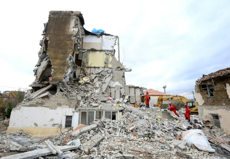 Albania natural disaster survivor found in collapsed building