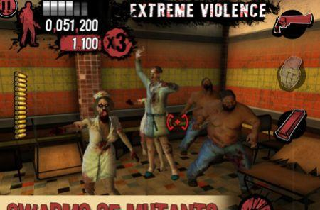 Daily iPhone App: House of the Dead Overkill - The Lost Reels is gross but innovative