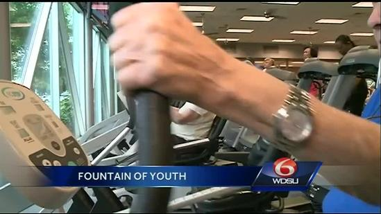 Seniors find fountain of youth in exercise