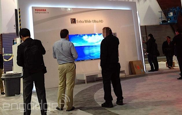 Toshiba cares not for 4K, has an ultra-wide 5K TV ready for CES