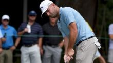 Golf - Every, driving yips cured, leads Stenson by one in Greensboro
