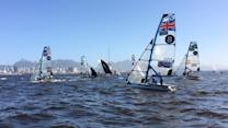 Sailors Test Rio's Waters Ahead of 2016 Olympics