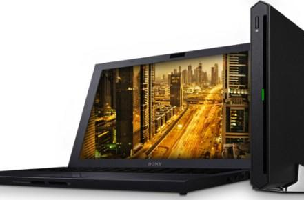 Sony's ultraslim 13-inch VAIO Z laptop revealed in Europe, packs external GPU for power on demand
