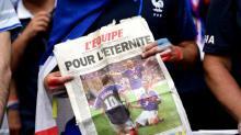 Coupe du monde : jackpot pour le journal l'Equipe