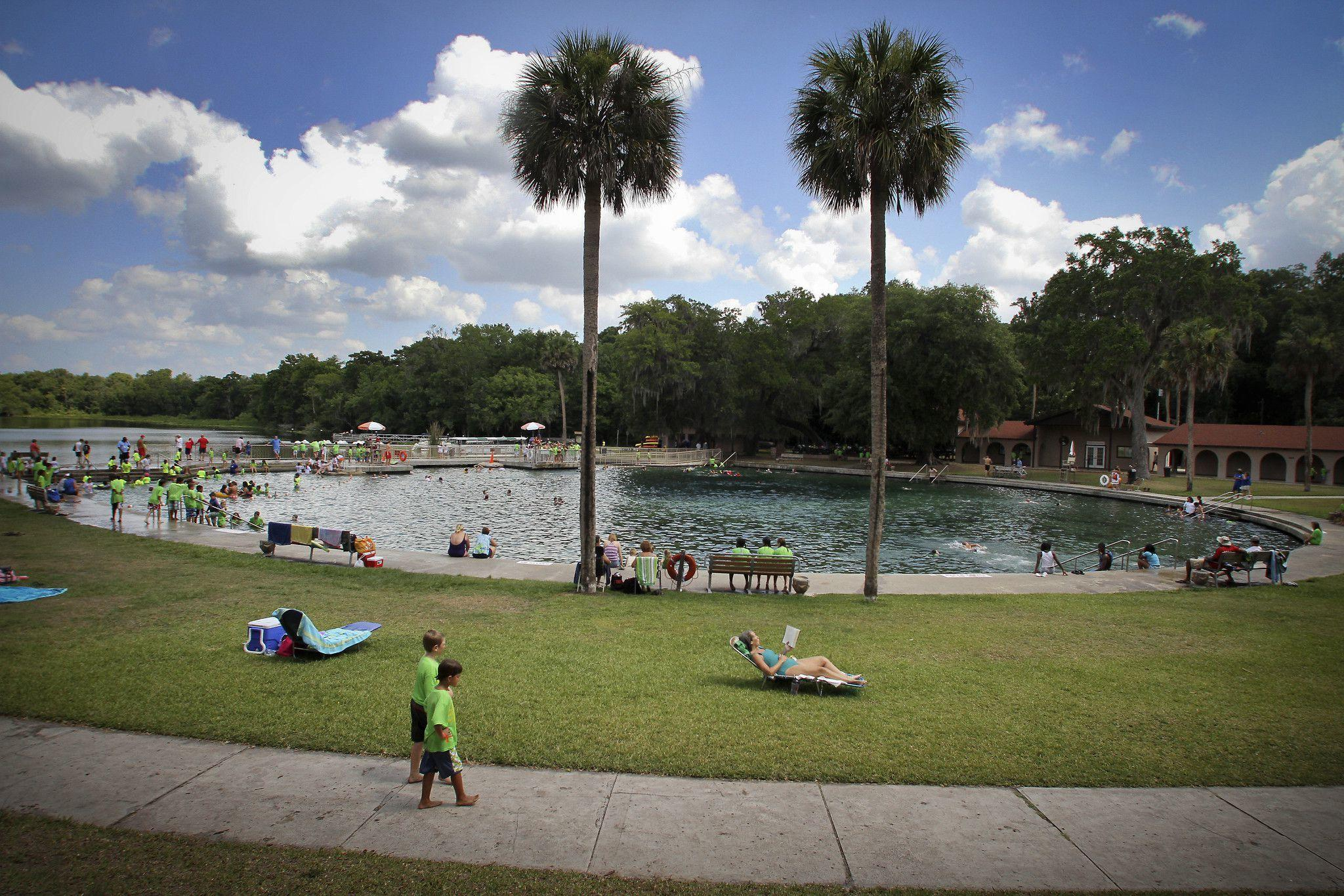 Three sinkholes form near DeLeon Springs State Park in Volusia County