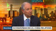 Schwarzman Says 'No Doubt' China and U.S. Have Tariff Level Imbalance