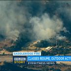 Dozens of structures damaged, containment increases for deadly Saddleridge Fire