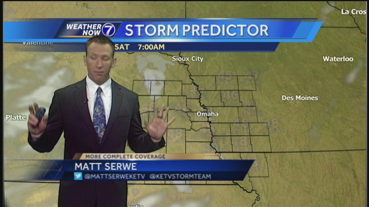 Matt Serwe Christmas Suit 2021 Rain Exiting Sun And 70s Moving In For The Weekend