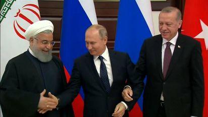 Siria: vertice tra Turchia, Russia ed Iran per decidere il futuro del paese