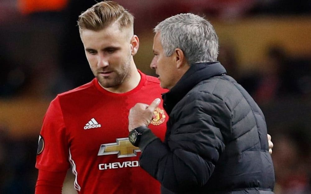 Luke Shaw and Jose Mourinho's relationship is at an all-time low - Reuters