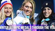 Slideshow: How Winter Olympic medals have changed through the years