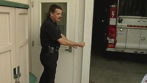 Walnut Creek firehouse robbed while crews fight fire