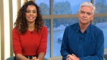 Phillip Schofield reveals how he has been supporting Holly Willoughby's 'I'm a Celeb' debut
