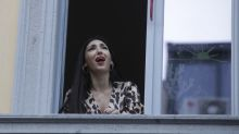 Italians sing on balconies in sign of solidarity amid coronavirus lockdown