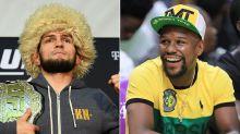 Floyd Mayweather responds to Khabib's throwdown