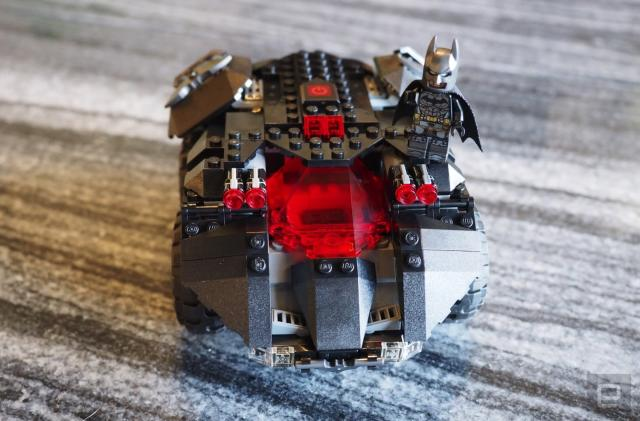 Lego's STEM-friendly Batmobile needs more STEM