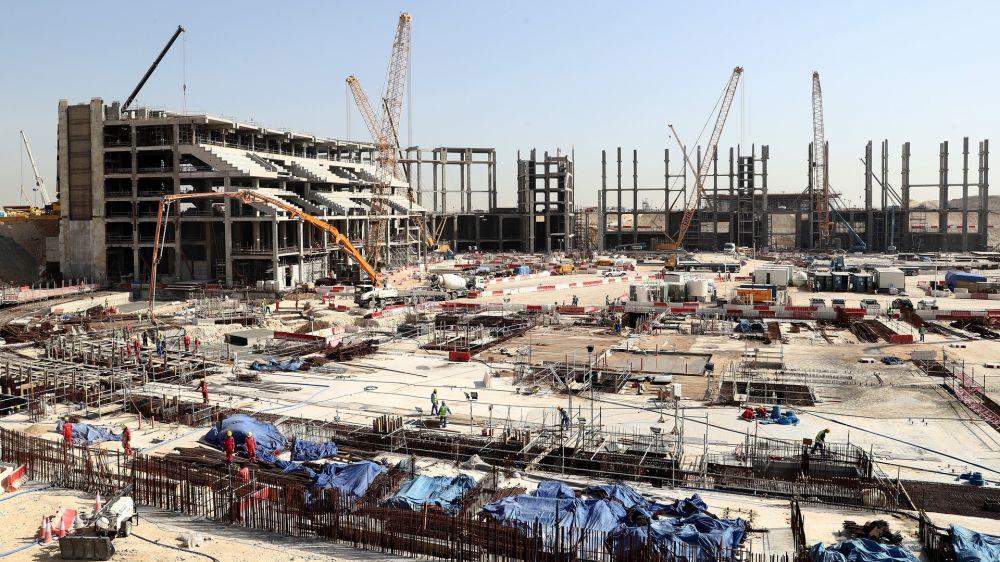 WM 2022: Erstes Katar-Stadion vor Fertigstellung