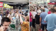 Woman's surprising experience during 90 minute Woolworths wait