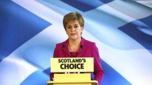 Pertempuran berikutya, Sturgeon bersumpah merdekakan Skotlandia