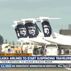 Alaska Airlines to start suspending travelers