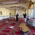 Afghan police say Kabul mosque bombing kills 12 worshippers