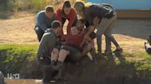 'Biggest Loser' contestant suffers broken bone on obstacle course
