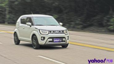 【新車圖輯】是逆灌水還是偷藏彩蛋!?2021 Suzuki Ignis 1.2 Hybrid海灣試駕!