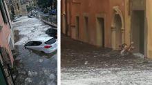 Violento nubifragio in Veneto, allagamenti a Verona, Vicenza e Padova