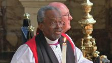Preacher praises 'power of love' at royal wedding