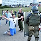 Belarus police shoot live rounds at protesters as EU considers sanctions