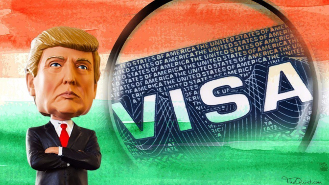 Trump Admin May End Work Permits for Spouses of H1-B Visa Holders