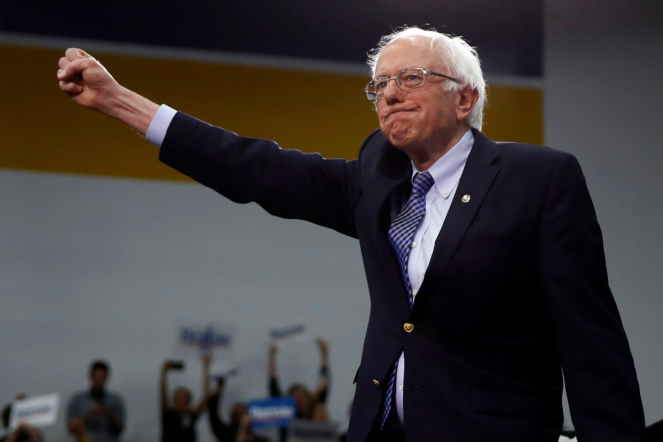 USA TODAY/Ipsos poll: For voters, Bernie Sanders outranks other Democrats – and Trump – on values, empathy