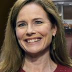 Republicans advance Amy Coney Barrett nomination; Democrats stay away