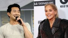 Simu Liu Asks Sharon Stone On A Date After She's Kicked Off Bumble