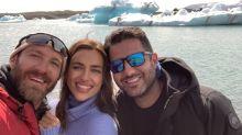 Irina Shayk se escapa a Islandia tras su separación de Bradley Cooper