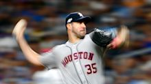 In ALCS clash, Justin Verlander says the fluctuating baseball 'dictates the game'
