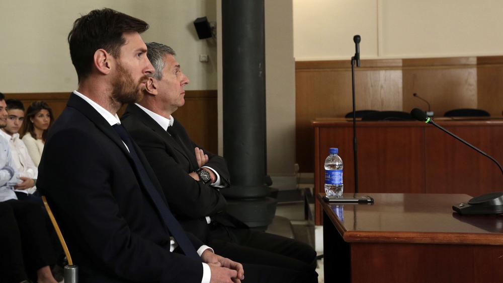 El fiscal pide al Supremo que confirme la pena de Messi de 21 meses de cárcel