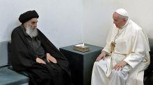 """Quién Al-Sistani, el """"Nelson Mandela chiita"""" y por qué es tan importante su encuentro con Francisco"""