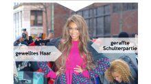 Look des Tages: Tyra Banks mit pinken Details in New York
