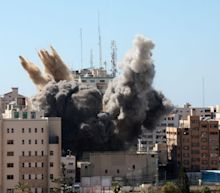 White House says it 'communicated directly' to Israelis that safety of journalists in Gaza is 'paramount' after media building was bombed