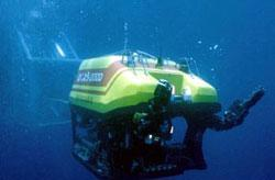 Underwater robots to help stem oil spill