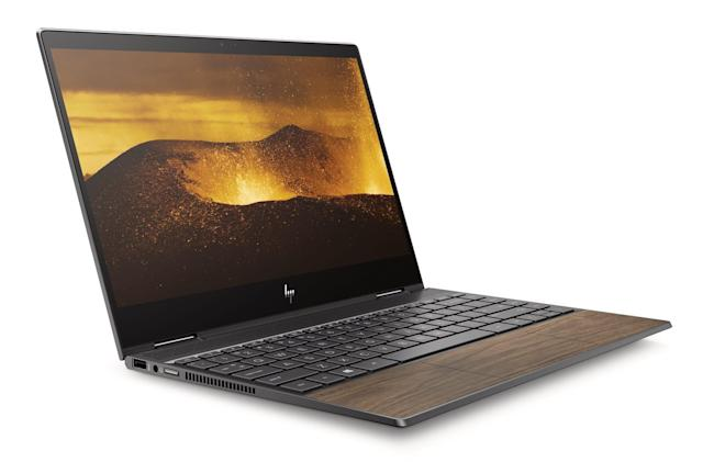 HP adds a wood option to its Envy laptops