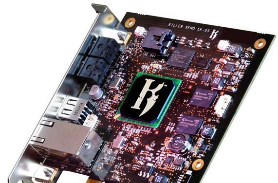 Bigfoot Networks returns with Killer Xeno network card