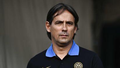 """Inter, Inzaghi: """"Quando saremo tutti sarà bello. Calhanoglu? Qui per fare la mezzala"""""""