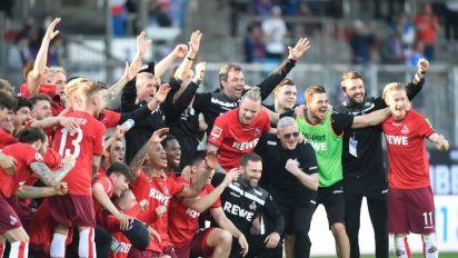 Cologne étrille Kiel et sauve sa place en Bundesliga
