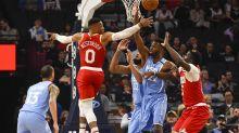 Westbrook scores season-high 45, Rockets beat Wolves 131-124