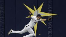 Kevin Kiermaier ran forever to complete this catch of the year candidate