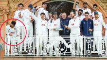 'Be better': Cricketer's 'unacceptable' act in celebration photo