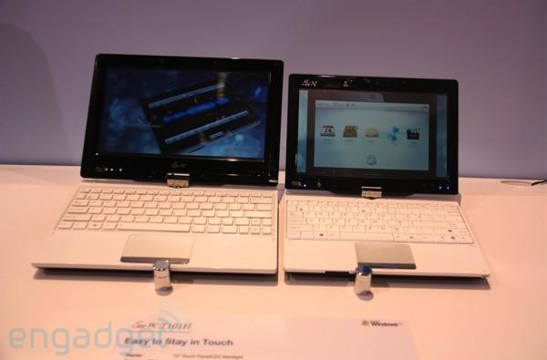 ASUS Eee PC T91 and T101H touchscreen tablet hands-on