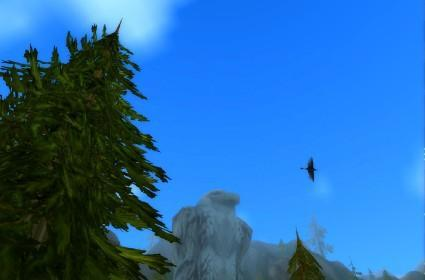 Around Azeroth: Looking over Aerie Peak